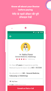 screenshot of DocsApp - Consult Doctor Online 24x7 on Chat/Call version 2.3.85