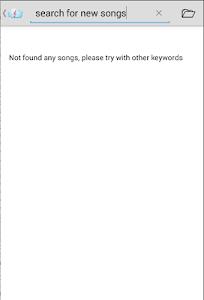 screenshot of Download Music Free version 2.0