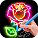 Download Draw Glow Flower 1.0.9 APK