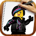 Download Draw Lego Movie Characters 1.02 APK