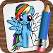 Download Drawing Little Pony 1.02 APK