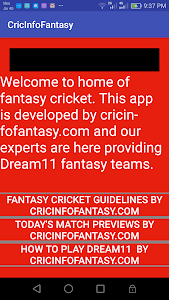 Download Dream11 Pro Fantasy Cricket & Football Tips by KC 1.1 APK