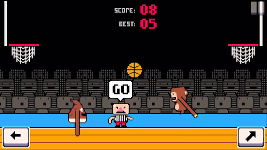screenshot of Dunkers - Basketball Madness version 1.2.6