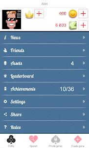 screenshot of Durak Online version 1.5.1