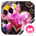 Download ★FREE THEMES★Sparkling Heart 1.0.1 APK