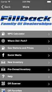 Download Fillback Family of Dealerships 2.2 APK