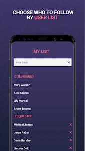 screenshot of FindNow version 0.5.13