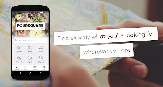 Download Foursquare City Guide  APK