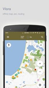 Download Vlora Map offline 1.76 APK