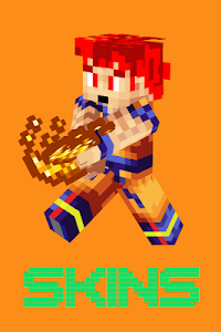 Download SKIN SAIYAN GOKU for MCPE 1.2.3 APK