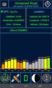 screenshot of GPS status version 1.1.5