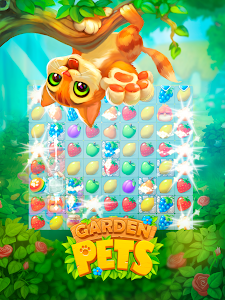 Download Garden Pets: Match-3 Dogs & Cats Home Decorate 1.24 APK
