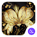 Golden Flower Theme & HD wallpapers