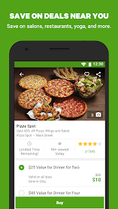 screenshot of Groupon - Shop Deals, Discounts & Coupons version Varies with device