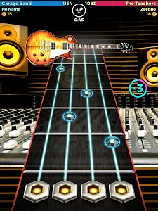 screenshot of Guitar Band Battle version 1.3.1