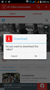 Download HD Video downloader free 1.4 APK