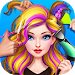 Download Hair Stylist Fashion Salon ❤ Rainbow Unicorn Hair 1.7 APK