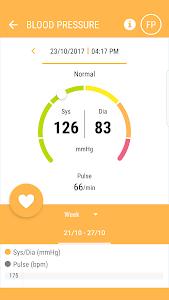 screenshot of HealthForYou version 1.8