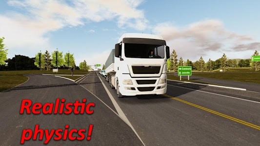 screenshot of Heavy Truck Simulator version 1.891