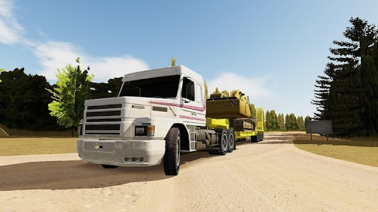 screenshot of Heavy Truck Simulator version 1.62