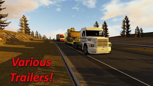 screenshot of Heavy Truck Simulator version 1.971
