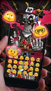 Download Hip Hop Skull Keyboard Theme 10001006 APK