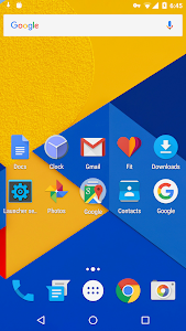 screenshot of Holo Launcher version 3.1.2