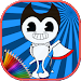 Download How To color Bendy kids game 1.1 APK