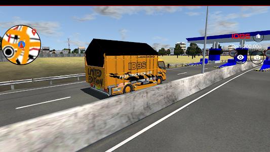 Download IDBS Indonesia Truck Simulator 2.1 APK