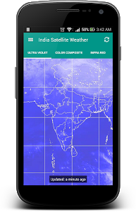 screenshot of India Satellite Weather version 5.0.4