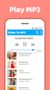 Download Mp4 to mp3-Video to mp3-Mp3 video converter 1.5.3 APK