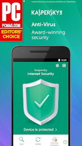 screenshot of Kaspersky Mobile Antivirus: AppLock & Web Security version Varies with device