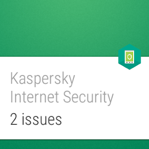 screenshot of Kaspersky Mobile Antivirus: Web Security & AppLock version Varies with device