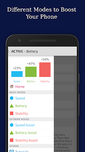 screenshot of Root King Booster: Boosts CPU, RAM & Saves Battery version 1.7