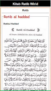 Download Kitab Ratib Wirid & Hizib 1.2 APK