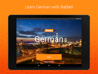 screenshot of Babbel – Learn German version Varies with device