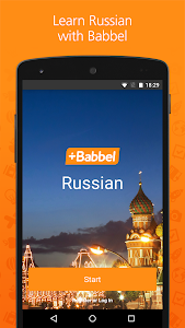 screenshot of Babbel – Learn Russian version Varies with device