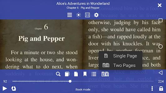 screenshot of Librera - Book Reader of all formats & PDF Reader version 7.12.37