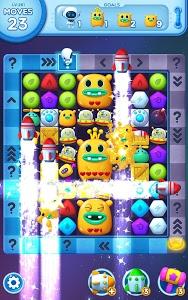screenshot of Little Odd Galaxy - Match 3 Puzzle Game version 1.1.54