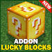 Download Lucky Block For Minecraft Addon Mod MCPE 1.0 APK