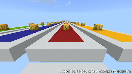 Download Lucky Blocks New Race MCPE map 2.1 APK