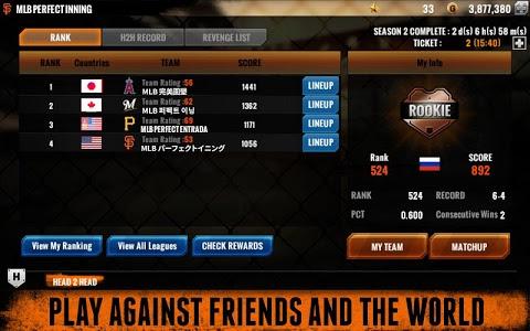 screenshot of MLB Perfect Inning 15 version 3.0.5