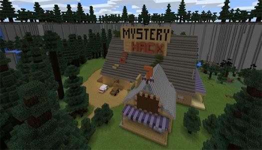 Download Map for MCPE Gravity Falls 1.1 APK