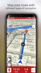 Download Free-GPS, Maps, Navigation, Directions and Traffic 1.11 APK