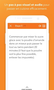 screenshot of Marmiton : Recettes gourmandes version Varies with device