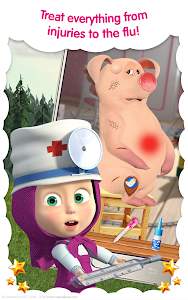 Download Masha and the Bear: Free Animal Games for Kids 3.5 APK