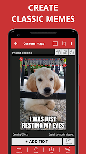 screenshot of Meme Generator Free version 4.436