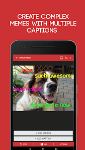 screenshot of Meme Generator Free version 4.013