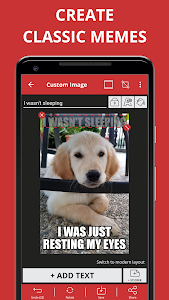 screenshot of Meme Generator Free version 4.434