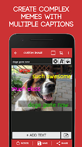 screenshot of Meme Generator Free version 4.032